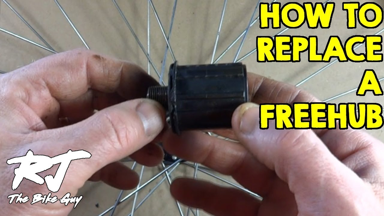 How To Replace A Freehub Body On A Bike Wheel Youtube