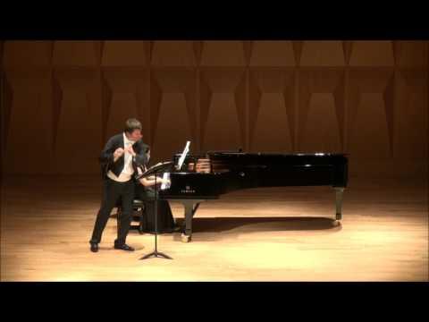 Karl-Heinz Schütz, S. Prokofiev: Flute Sonata, op. 94. IV. Allegro con brio