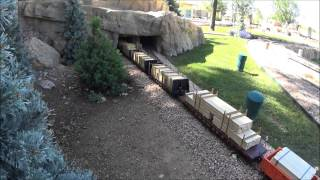 Longest G Scale Train On Youtube - 160 Cars!