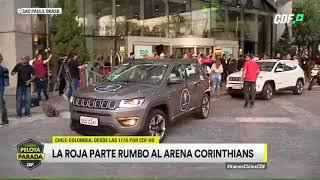 ¡La Roja parte rumbo al Arena Corinthians!