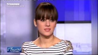 Alizée  L'invité en TV5 monde