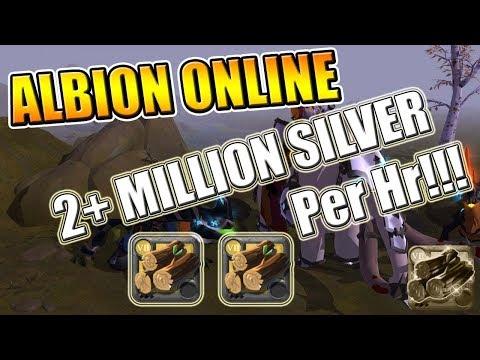 Albion Online 2+ Million Silver Per Hr! - Albion Online Money Making Guide!