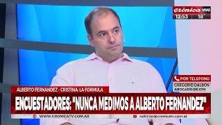 """Manuel Adorni en """"Crónica Noticias sábado"""", con Augusto Pomar y Montserrat Brizuela - 18/05/19"""