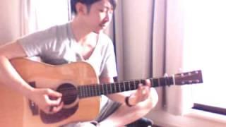 久保田利伸「LOVE RAIN 〜恋の雨〜」のカバーです.