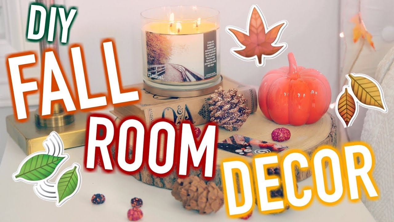 Diy Fall Room Decor Cute Cheap Decor Ideas Youtube