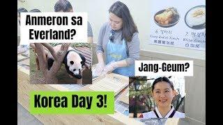 Nakita si Jang-Geum + Everland! + Kimbap Making! | KOREA VLOG DAY 3 | RaiTries