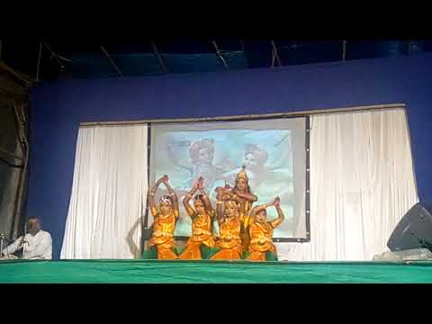 Malavika & group dance performance kannu thurannal