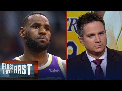 LeBron, Lakers have to embrace load management — Chris Mannix | NBA | FIRST THINGS FIRST