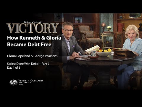 How Kenneth and Gloria Became Debt Free with Gloria Copeland and George Pearsons (Air Date 8-29-16)