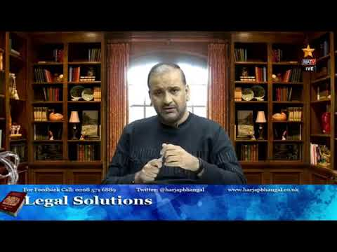 Legal Solutions with Harjap Bhangal 12.06.20