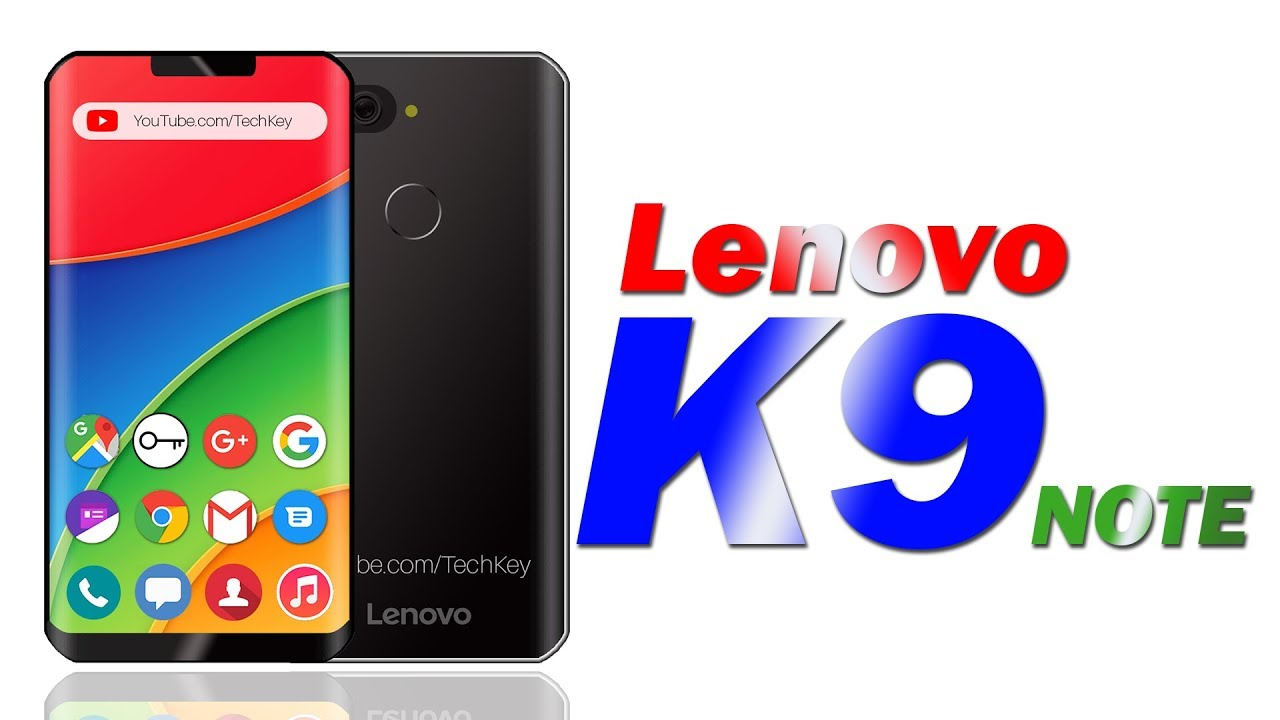 Lenovo K9 Note (2018) - 6GB RAM & 128GB Storage,Full HD Display, Android  8 0 (Concpet)