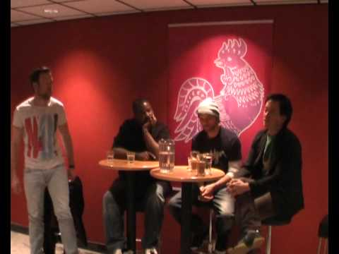 Artist talk at TUPP with Lemon Andersen, Beau Sia & Poetri part 1