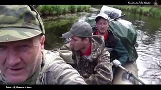 Рыбалка в Архангельской области. Тайга...Я, Никита и Илья.