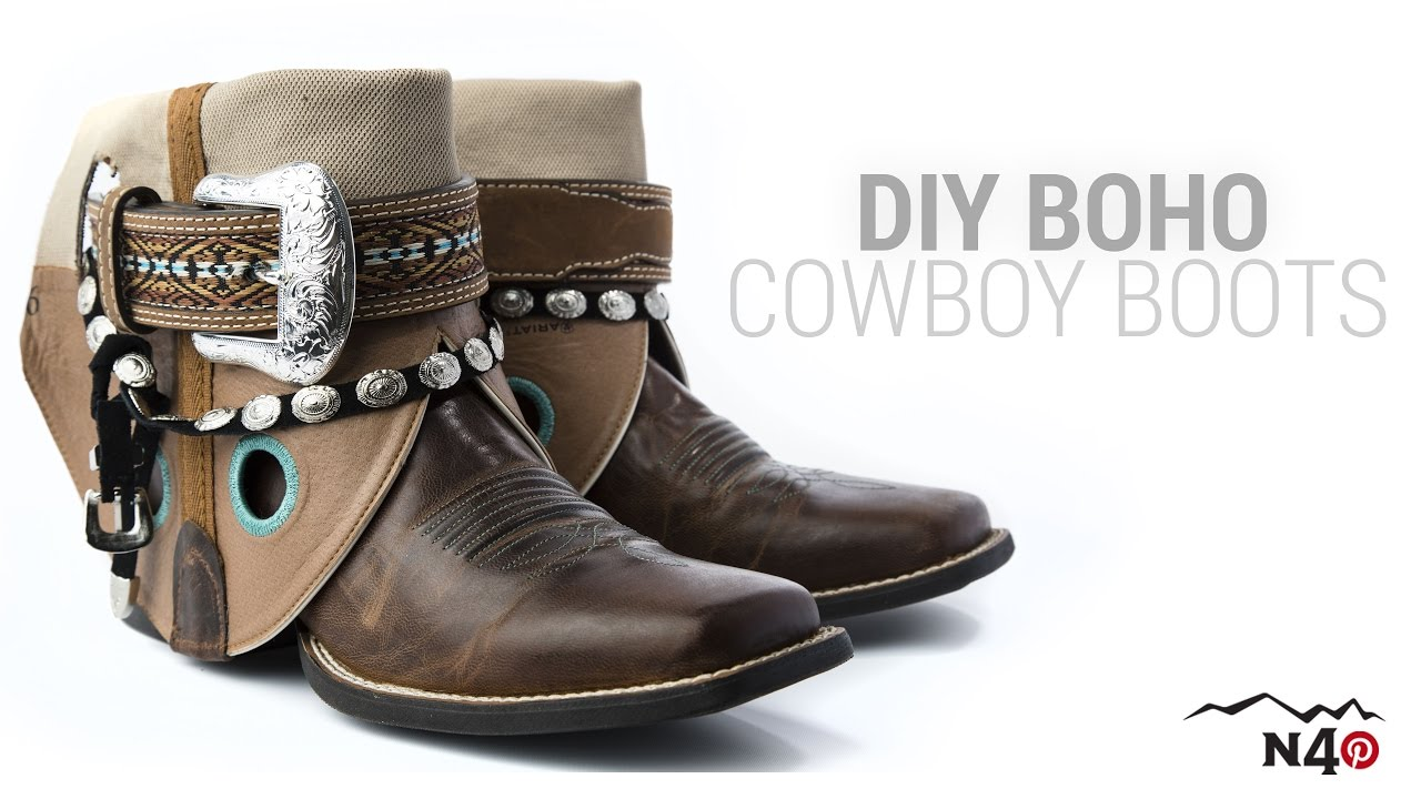 b8475c09140 DIY: Boho Cowboy Boots - North 40 Life