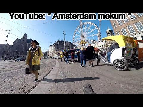 """Amsterdam """". Kermis op de Dam """".  9 apr. 2017."""