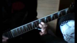 Cradle of Filth - Nymphetamine Overdose (guitar cover)
