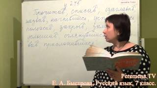 Peremena TV Русский язык, Быстрова, № 245