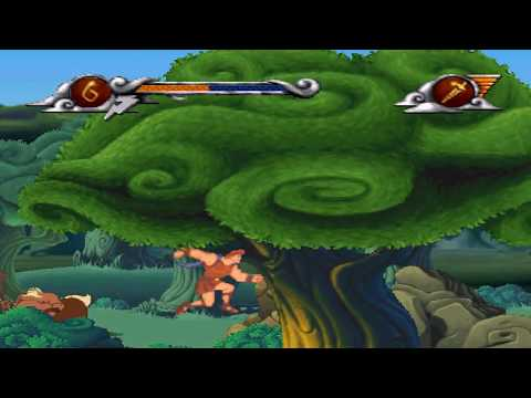 Hercules The Action Game Walkthrough : Level 3 - Centaurs' Forest |