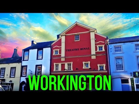 Places To Live In The UK - Workington, Cumbria ( Lake District ) CA14 England