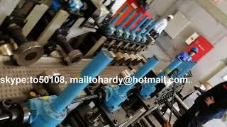 cable tray forming machine 400X50X1.5 Qatar ICMS,
