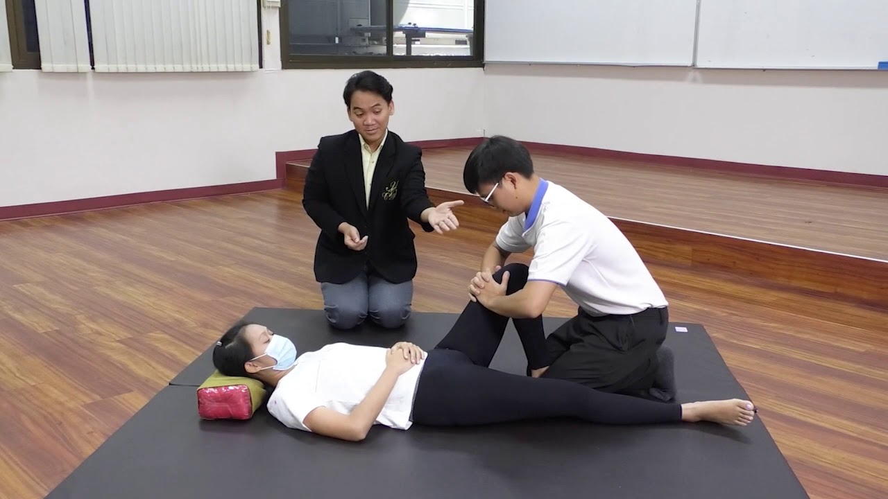 การนวดไทยเพื่อสุขภาพ (เชลยศักดิ์) คณะครุศาสตร์ มหาวิทยาลัยสวนดุสิต