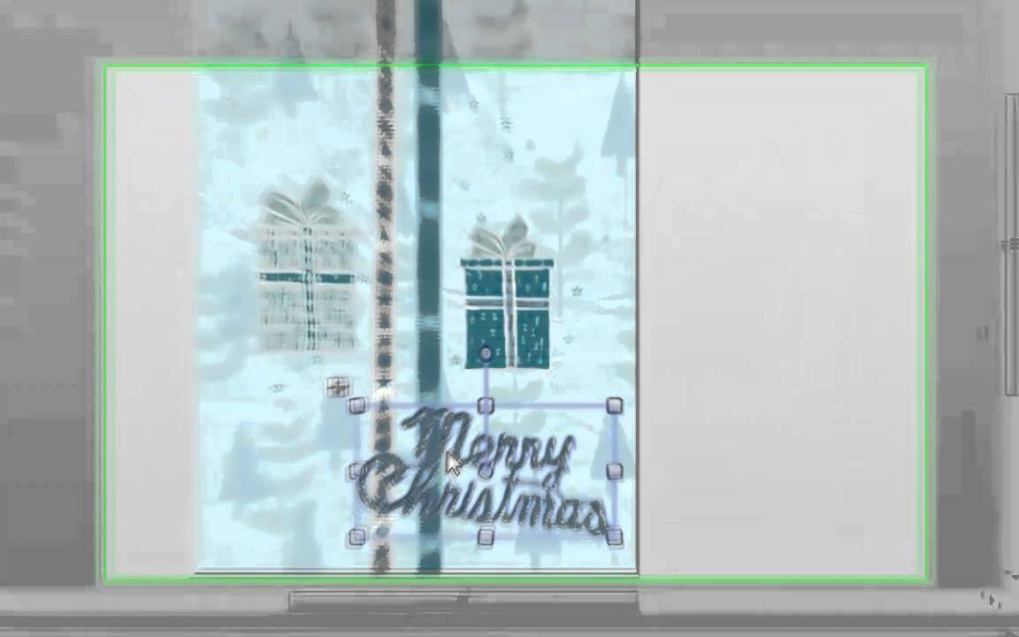 How to make your own Christmas Cards for free - YouTube