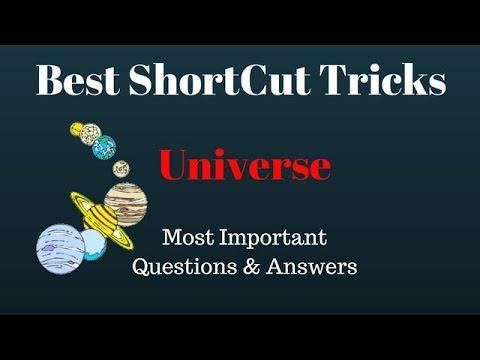 universe gk trick universe gk questions universe gk in hindi