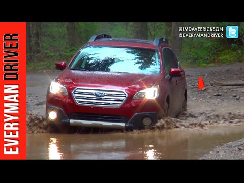 Here's The 2015 Subaru Outback Off-Road Test Drive On Everyman Driver