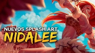 Nuevos Splash Art: NIDALEE | Noticias LOL