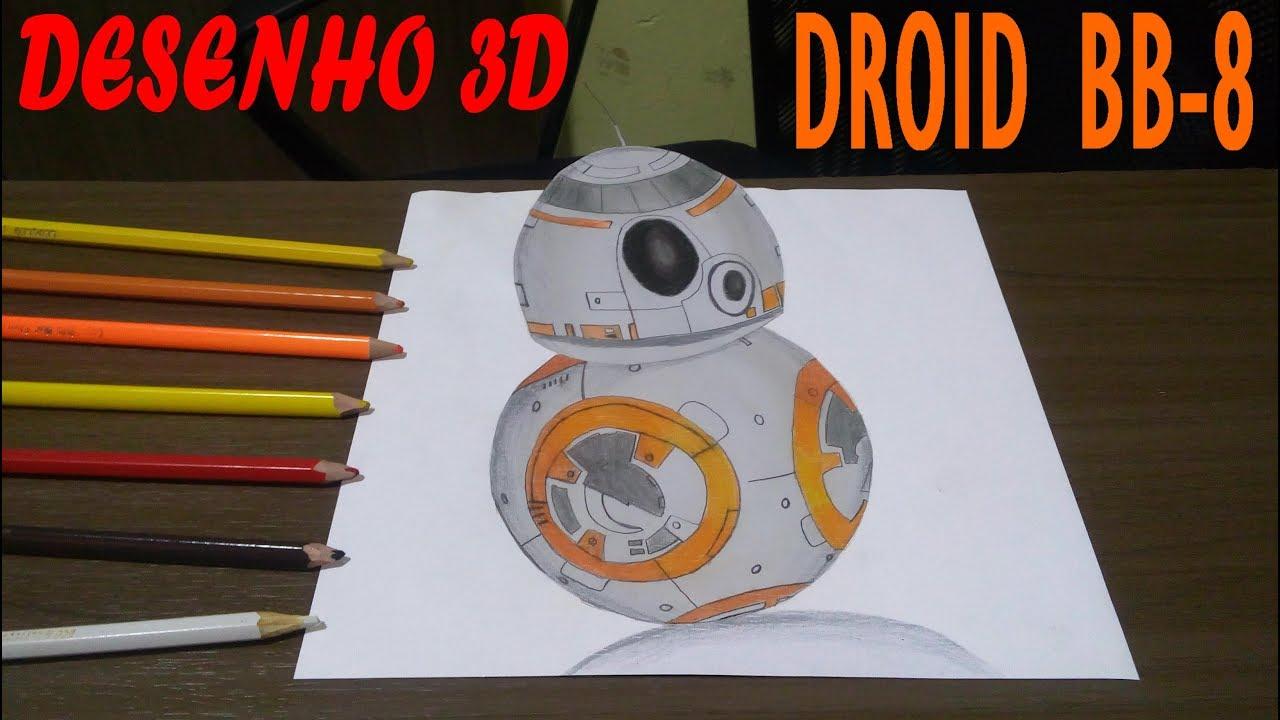como desenhar o droid bb 8 do star wars tutorial de desenho youtube