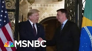 president-donald-trump-issues-travel-ban-brazil-virus-cases-spike-mtp-daily-msnbc