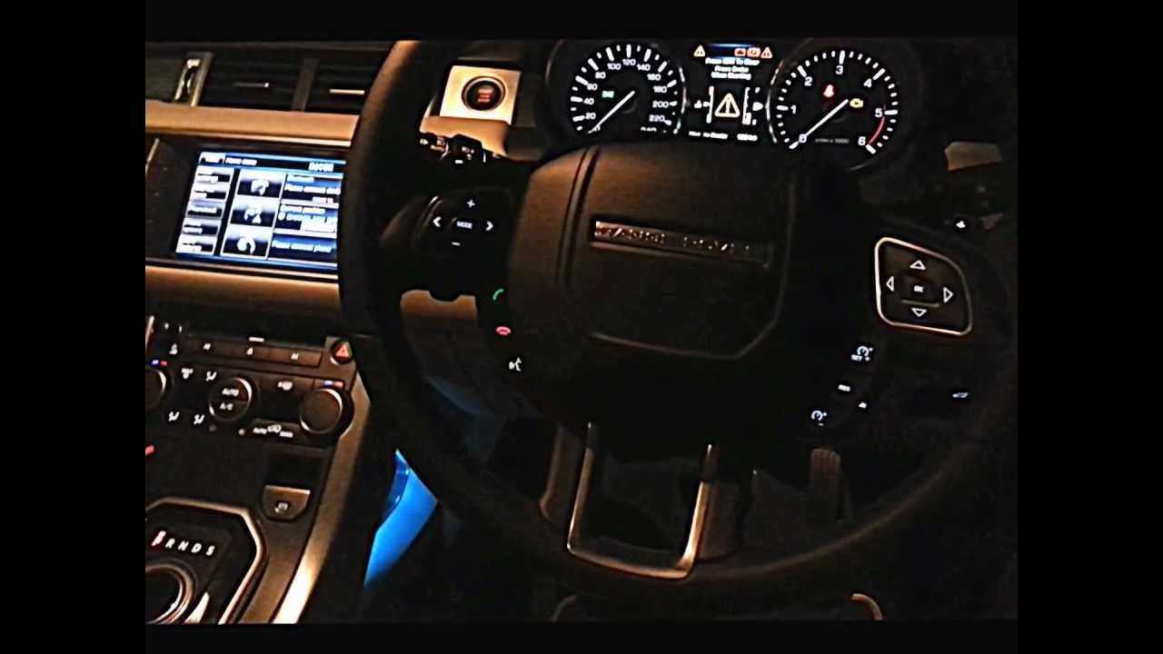 Top Speed RangeRover Evoque - YouTube