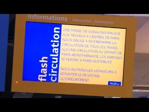 Gare Montparnasse: trafic complètement interrompu