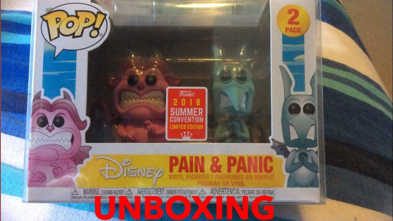 Hercules Pain /& Panic SDCC 2018 US Exclusive Pop!