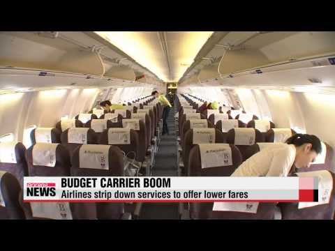 Local budget carriers become popular choice for air travelers   국내 저비용항공사, 취항 10