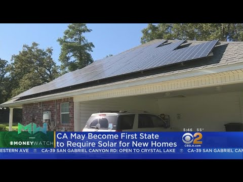 California May Become First State To Require Solar Panels On New Homes