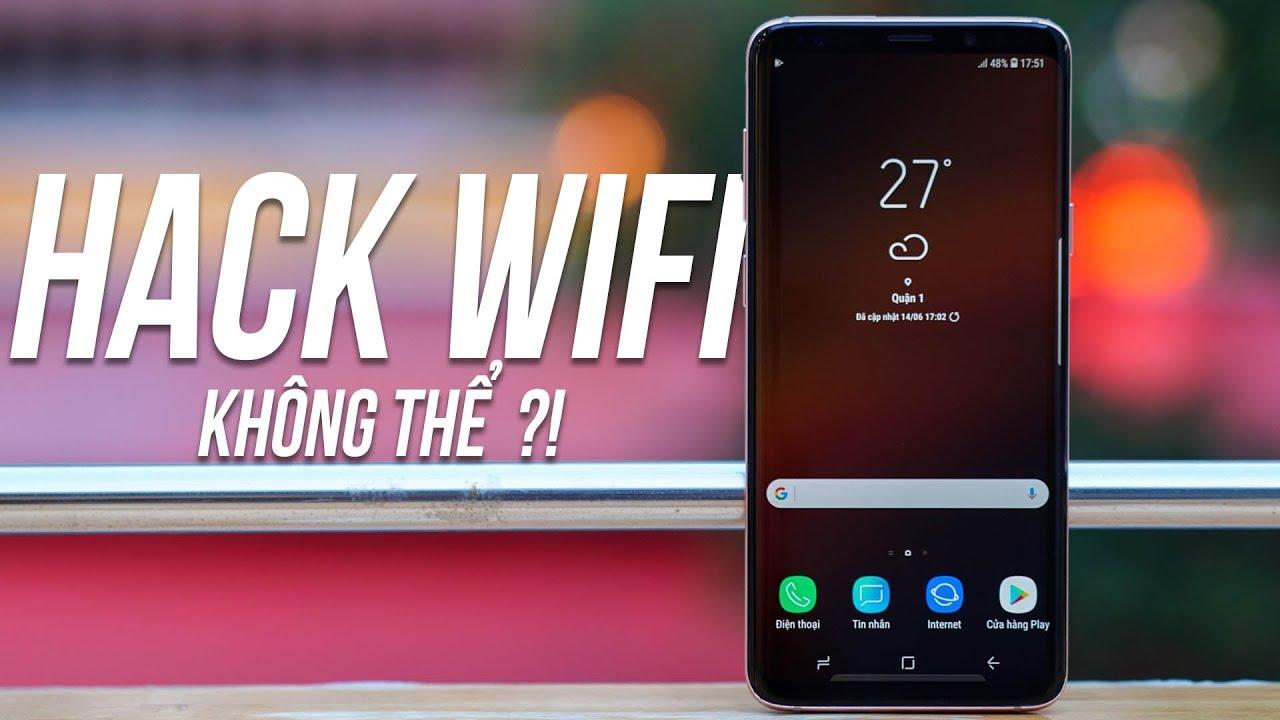 """2019 rồi, Đừng nghĩ đến chuyện """"HACK WIFI"""" nữa khi đã dùng ứng dụng này!"""
