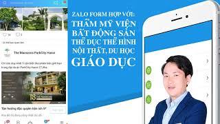 Quảng cáo Zalo Form, Zalo Marketing | Đức 4P Media