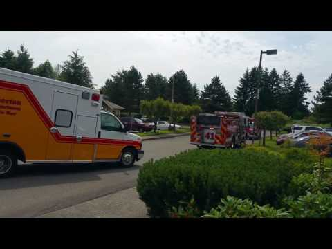 Man, Child at Planned Parenthood Witness Ambulance Transport of Loved One