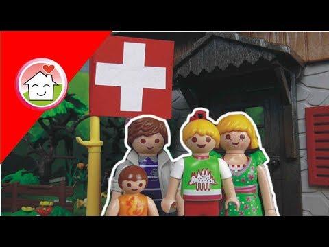playmobil film deutsch familie hauser in der schweiz / kinderfilm / kinderserie von family