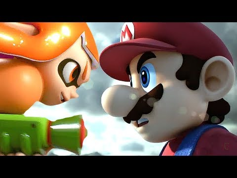 Super Smash Bros Switch & WII U All Cutscenes Movie 2018 So Far - All Character Trailers SSB 5 & 4