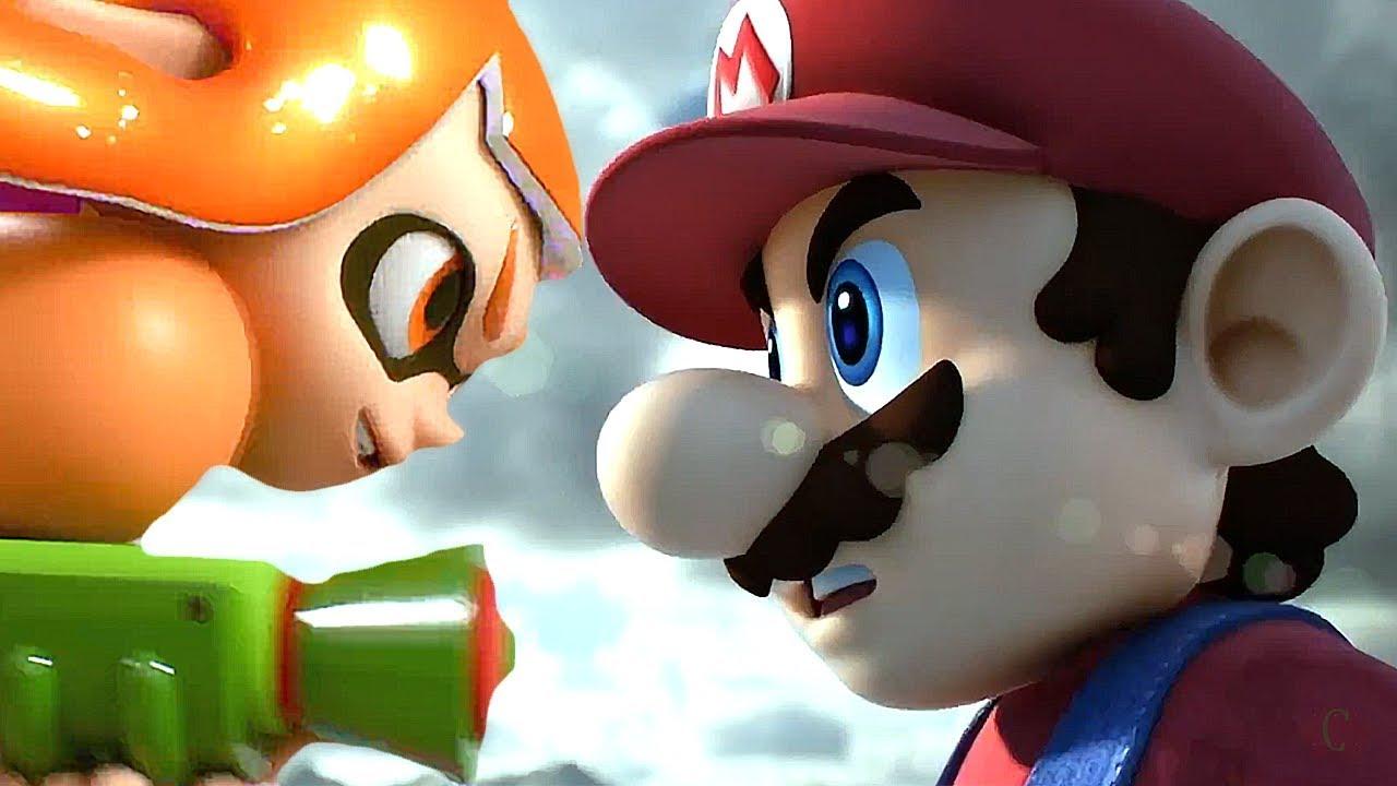Super Smash Bros Ultimate Switch Wii U All Cutscenes Movie All