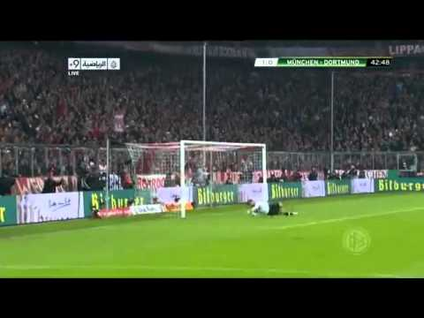 Bayern Munich vs Borussia Dortmund 1-0 Highlights 27/2/2013