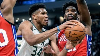 Giannis 31 Pts! Bucks Beat 76ers By 21! Pts! 2019-20 NBA Season