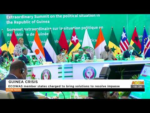 ECOWAS member states charge to bring solutions to resolve impasse -  Adom TV News (16-9-21)