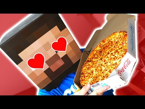 STEVE ORDERS PIZZA! (Challenge Accepted)
