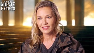 Wonder Woman | On-set visit with Connie Nielsen 'Hippolyta'
