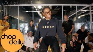 Skiibii ft. Reekado Banks - Sensima (Dance Class Video) | Chisom Choreography | Chop Daily