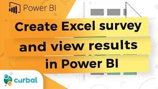 إنشاء excel الدراسة وعرض النتائج تعيش مع السلطة BI سطح المكتب - Power BI نصائح وحيل #09: