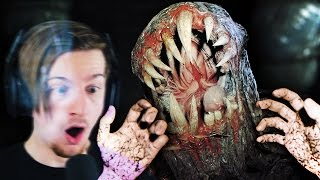 THE BAKERS BASEMENT.. WHY IS THIS THING DOWN HERE!? || Resident Evil 7 Midnight